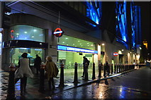 TQ3280 : Cannon Street Underground Station by N Chadwick
