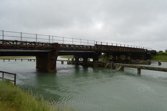 Viaduct across the River Arun