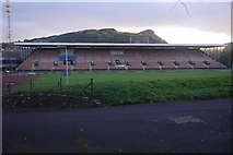 NT2774 : Meadowbank Stadium without the goal posts by Richard Webb