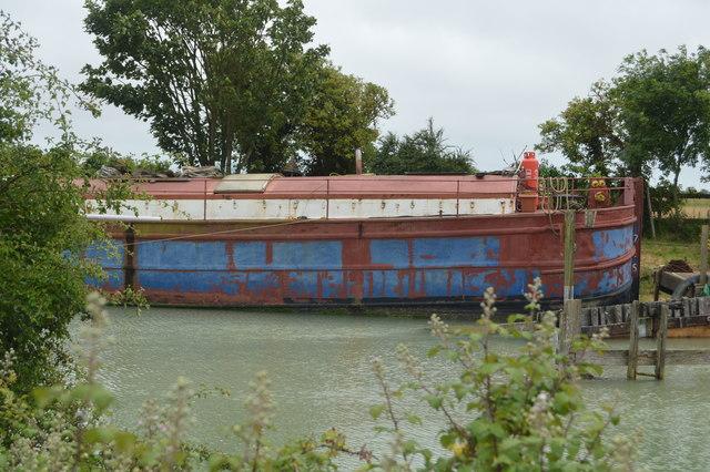 Moored at a marina on the River Arun