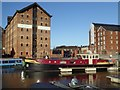 SO8218 : Barge and former warehouse by Philip Halling