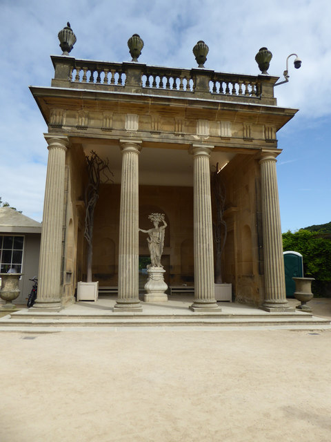 Chatsworth House - Flora's Temple