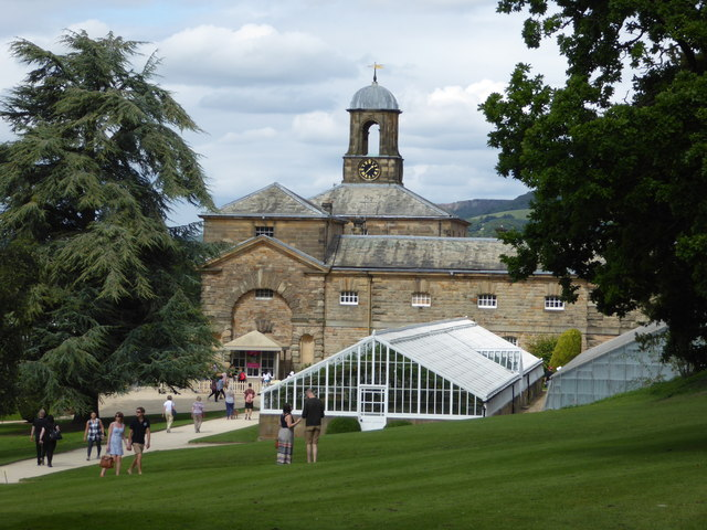 Chatsworth House - stable block