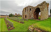 NJ0661 : Kinloss Abbey by valenta
