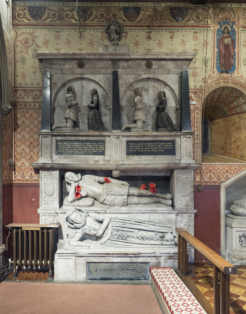 St Mary the Blessed Virgin, Addington - Monument