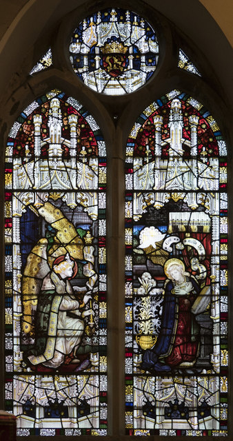 St Mary the Blessed Virgin, Addington - Stained glass window