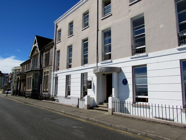 Grade II listed Croft House, The Croft, Tenby