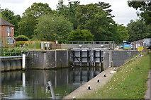 SU8384 : Thames Lock by N Chadwick