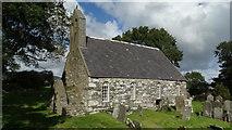 SC3278 : Marown Old Church near Crosby by Colin Park