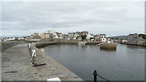 SC2667 : Castletown - Harbour by Colin Park