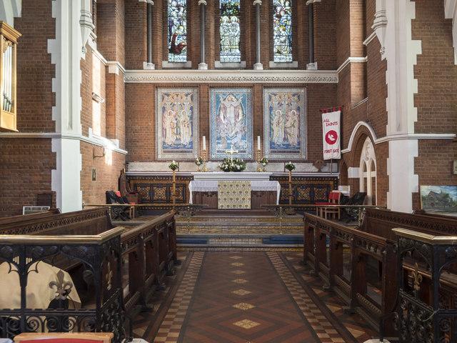 All Saints, Hampton Road, Forest Gate - Chancel