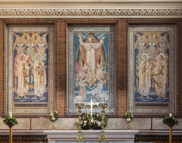 All Saints, Hampton Road, Forest Gate - Reredos