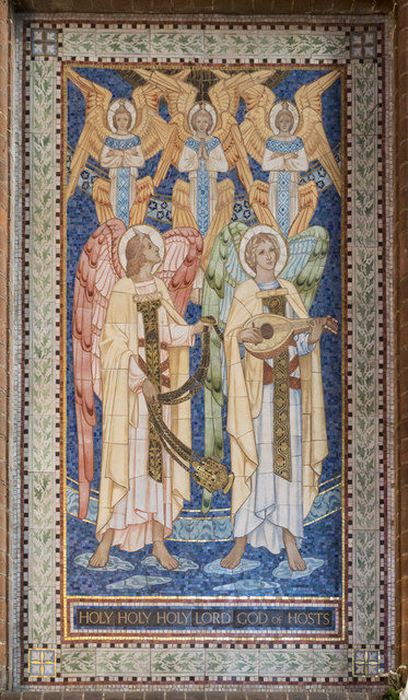 All Saints, Hampton Road, Forest Gate - Opus sectile