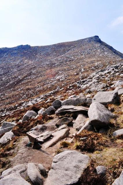 Goat Fell with Anvil