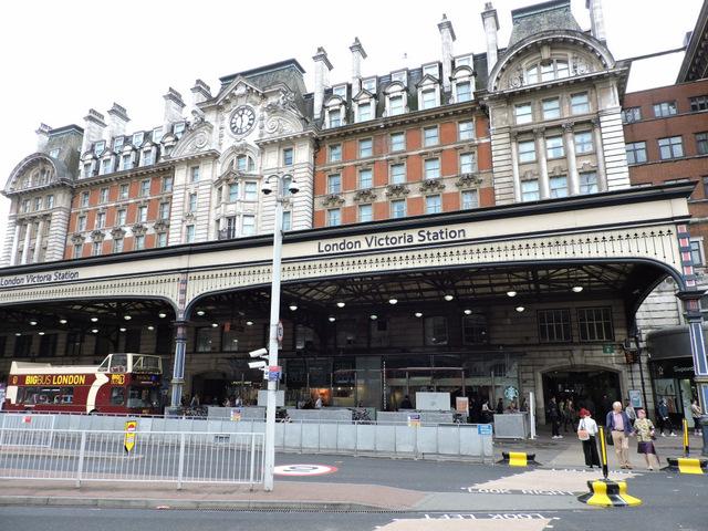 London Victoria railway station