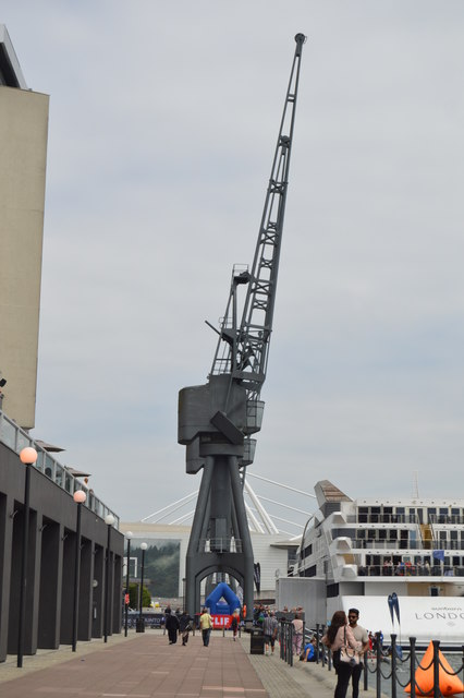 Crane, Royal Victoria Dock