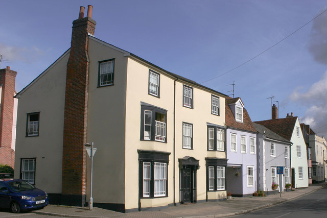 Houses in West Street, Coggeshall