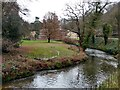 SJ8382 : The River Bollin at Quarry Bank Mill by Graham Hogg