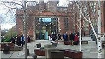 NZ2465 : Student Forum & Boiler House, Newcastle University by Simon Cotterill
