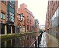 SJ8397 : Rochdale Canal behind Jurys Inn by Gerald England