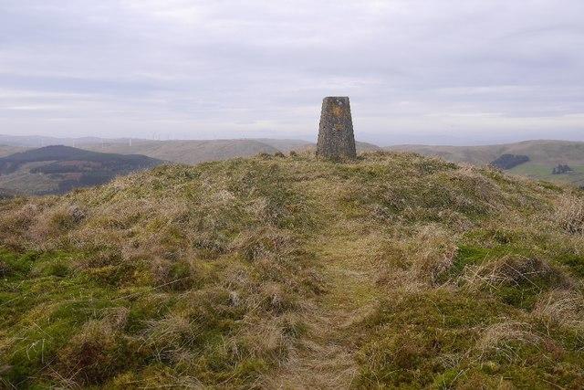 Innerdouny Hill summit