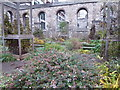 TQ3181 : Inside the bombed ruins of the former Christchurch, Greyfriars by Marathon