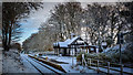 NC8401 : Dunrobin Castle Station in winter garb : Week 50