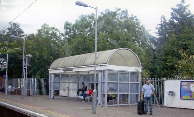 Pitsea station, 2007