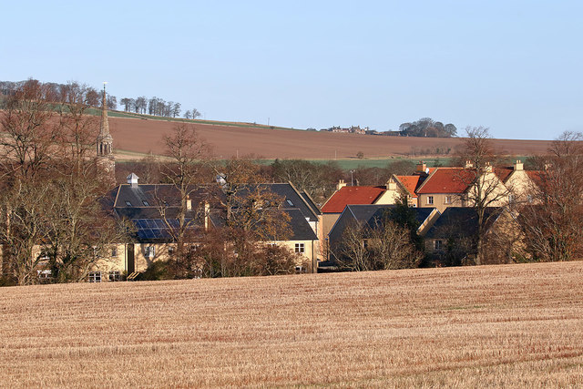 A stubble field at Haddington