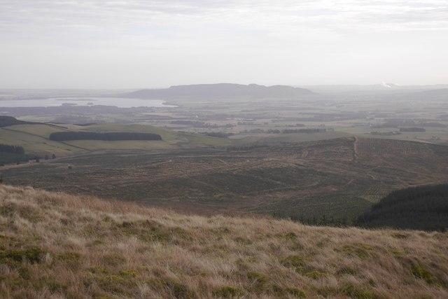 View from Innerdouny Hill