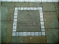 SE2633 : Hippo plaque, Armley Town Street by Stephen Craven
