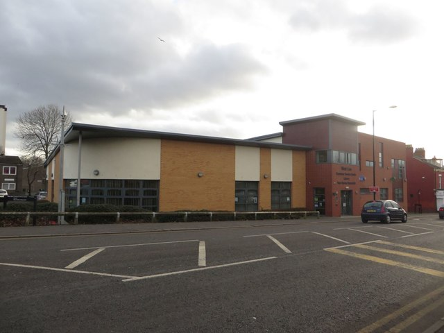 West End customer service centre and library, Newcastle upon Tyne