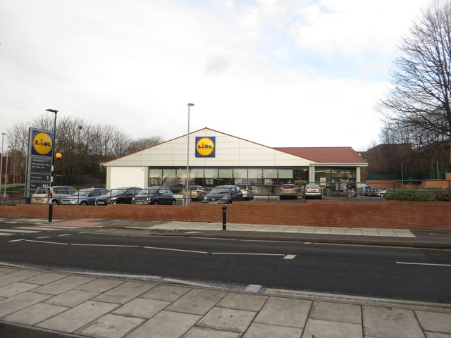 Lidl, Benwell Lane, Newcastle upon Tyne