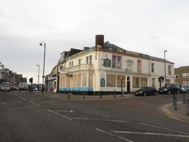 Closed pub, Adelaide Terrace, Benwell