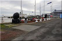 TA2711 : Royal Naval Patrol Veteran's War Memorial by Ian S