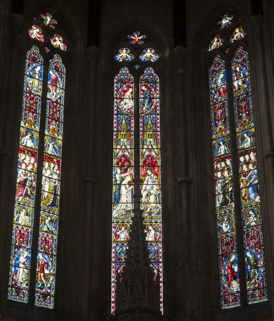 St Dominic's Priory Church, Belsize Park - Apse windows