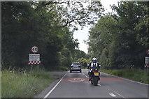 SP4407 : Entering Farmoor, Oxford Rd by N Chadwick