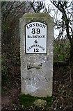 TL4041 : Old Milestone by MW Hallett