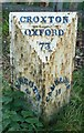 TL2460 : Old Milepost by MW Hallett