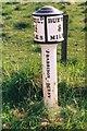 SJ9673 : Old Milepost by J Higgins