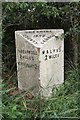 SJ4546 : Old Milepost by JV Nicholls & J Higgins