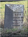 SJ4563 : Old Milepost by C Minto