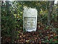 NY1032 : Old Milestone by the A594 at Dovenby Craggs by CF Smith