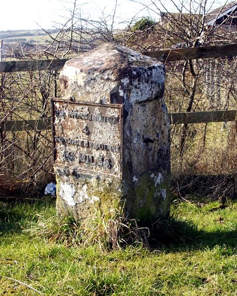 Old Milestone, Distington