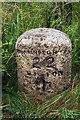 NY2347 : Old Milestone by CF Smith
