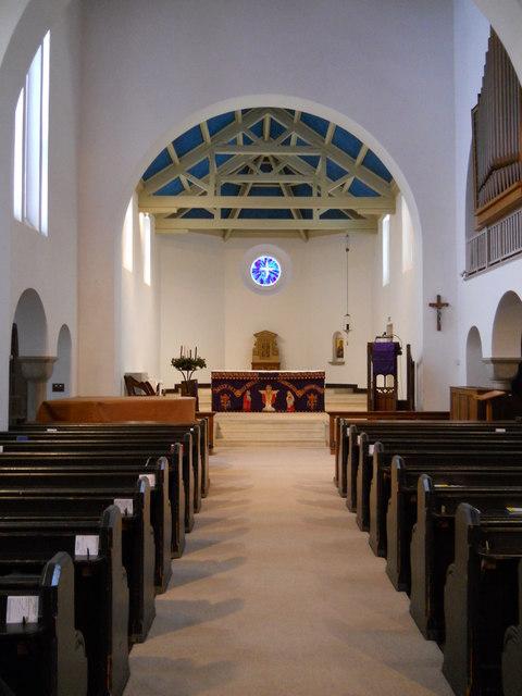 Interior of St. Peter's Church, Grange Park