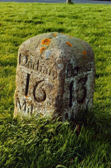 Old Milestone near the Sun Inn, Wackerfield