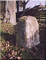 NZ0717 : Old Milestone by the A688, north east of Barnard Castle by C Minto