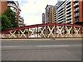 SJ8398 : Irwell Street Bridge by Gerald England