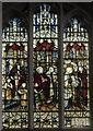 SK7694 : Stained glass window, All Saints' church, Misterton by Julian P Guffogg